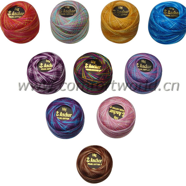 Cotton Embroidery thread in ball