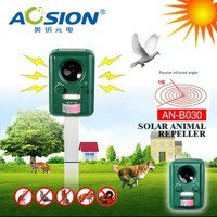 PIR Motion Activated Sensor Sound Flashlight Animal Bats Bird Repeller