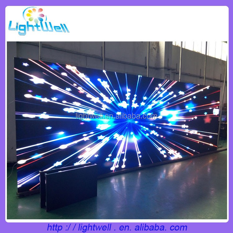Lightwell p3.91 smd indoor full color led display