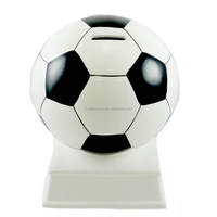 custom plastic coin football money bank,OEM factory make plastic football shape money banks