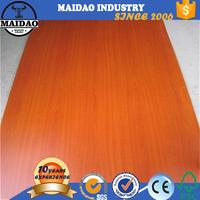 2-25mm thickness finger joint laminated board printing on mdf board