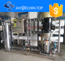2000L/H Best Price Commercial RO Water Treatment Purification Filter System