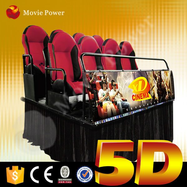 Controlled by servo motor 4d motion seats for 5d cinema