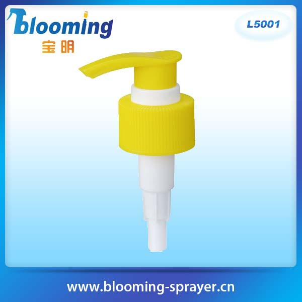 Hand pressure good price new design small head lotion pump for bottle