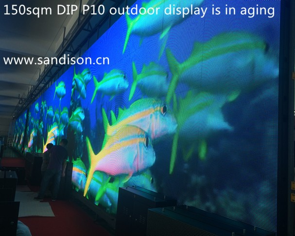 P10 high definition outdoor led wall video screens led signs outdoor electronic advertising led display screen