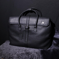 Men Genuine Leather Briefcase 100 Genuine