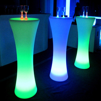 2016 Hot sale Led mobile bar counter / coffee table / led table furniture