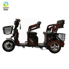 Adult electric handicapped passenger tricycle for elderly