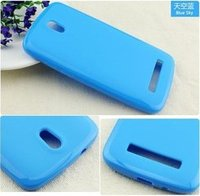 New stylish high quality soft gel tpu case manufacturer for htc desire 500 free sample
