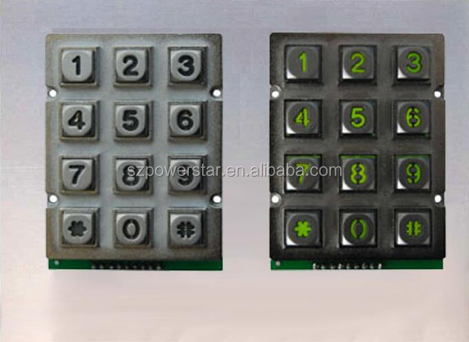 Best Secure Membrane Keypad Keypad Lock Made in China