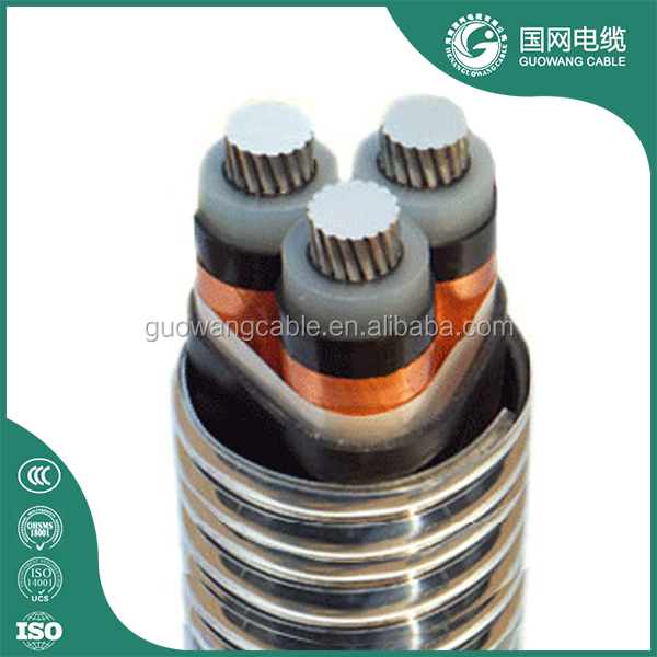 high quality 4 core alloy pvc power cable cheaper than copper cable