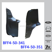 Japanese Auto Body Parts Rear Fender Liner for Mazda 3 BL BFF4-50-341 BFF4-50-351