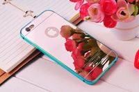 mirror cell phone case for iphone 6 6s waterproof rock case