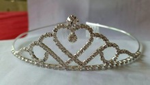 Fashion full rhinestones Tiara Beauty Bridal Wedding <strong>Crown</strong>