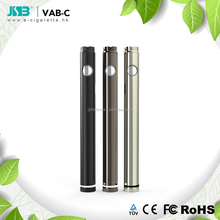 Vab-c model 420 mAh 2018 CBD Oil adjustable voltage battery micro charger connector
