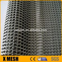 Rust resistance carbon steel hook flower mesh belt for semiconductor transmission