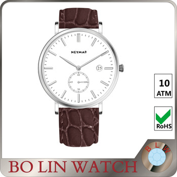 leather quartz wristwatches, custom chronograph watches, quartz watch for men