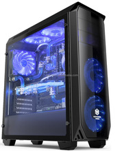 Computer PC Gaming Case Acrylic case with LED Water Cooling PC case