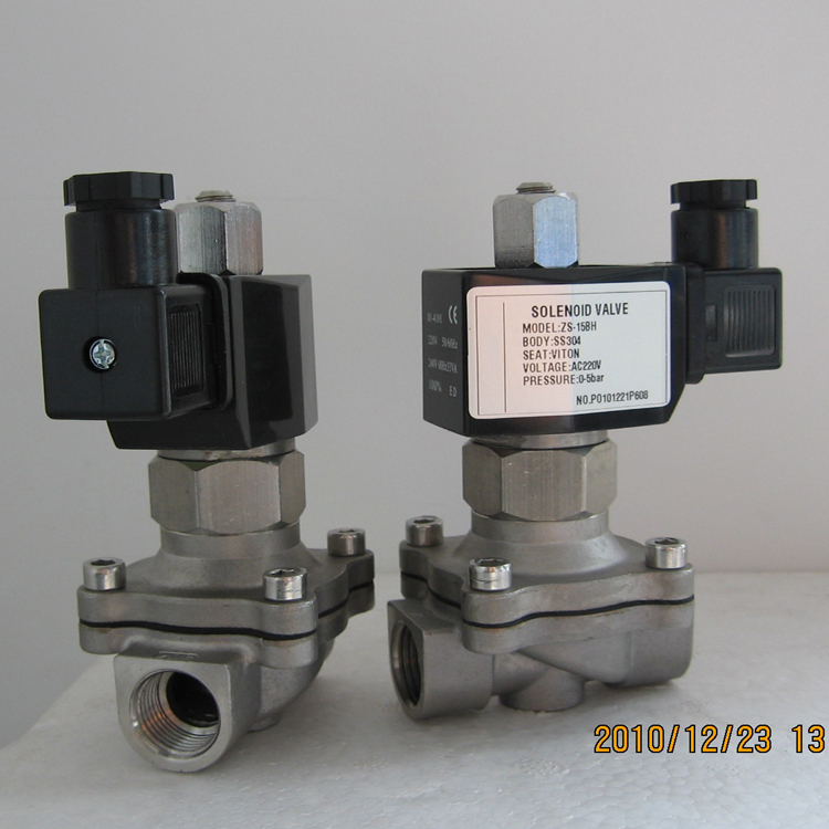 normally open gas emergency solenoid valve latching 12v