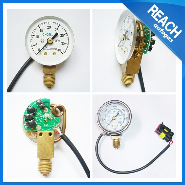 ngv natural gas pressure gauge