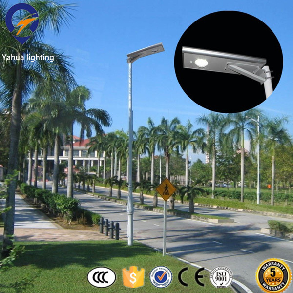Wholesale price 100 watt ip camera with all in one led solar street light 100W