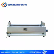 900 Stainless Steel manual paper gluing machine/ gluing machine desktop for photo paper