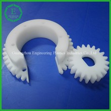 Factory price precise machining service nylon 6 nylon 66 nylon spur plastic sprockets gear