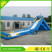 children wholesale water game inflatable water slide, giant inflatable slide for sale