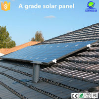 60W Mono solar panels solar PV modules with high efficiency, with long term warranty