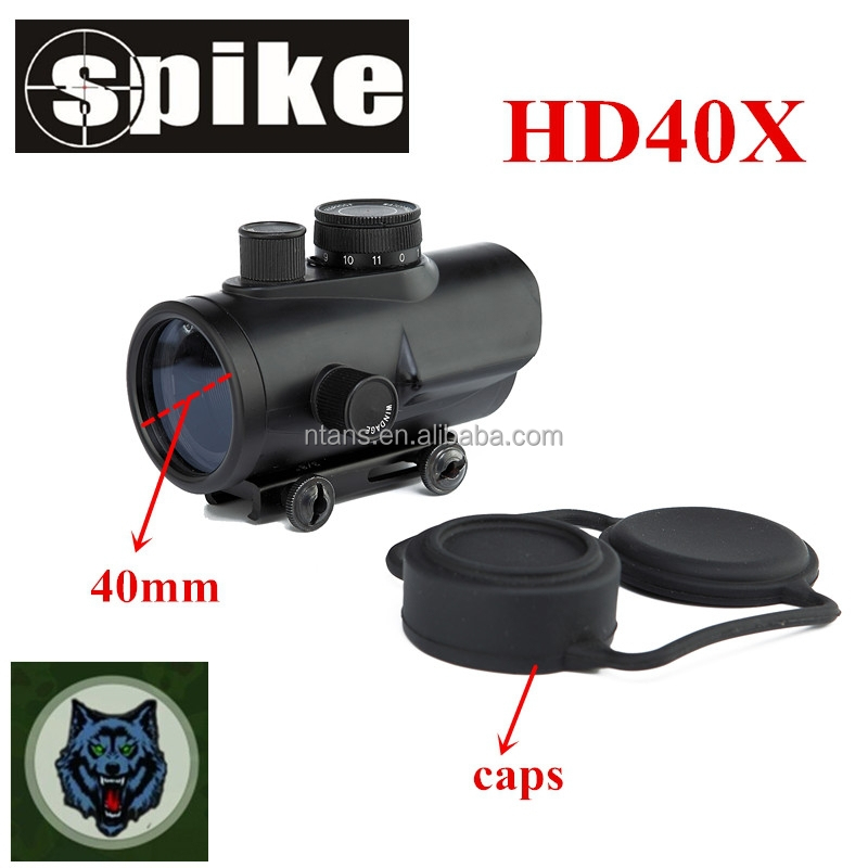 Tactical riflescopes red dot sight scope/hunting red dot scope with cut sunshade used for air gun rifle scope