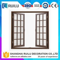 Factory wholesale 2016 french window grill design