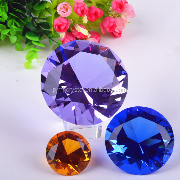 MH-ZS114 colored shining crystal diamond wedding return gift
