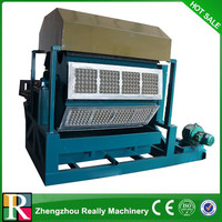 Recycled waste egg tray machine/paper egg tray making machine price