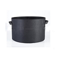 Top manufacturer factory Direct Supply hydroponic non woven black fabric Grow Pot grow bag