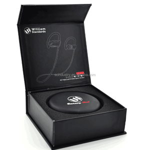 customized logo earphones package headset box