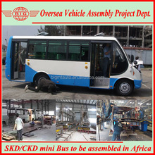 SKD CKD 6650 Diesel/CNG Mini School Bus Model for Sale