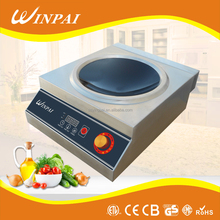 5000W Concave Surface Commercial Induction Cooktop Table Top
