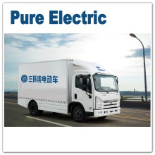 Electric van cargo truck for sale