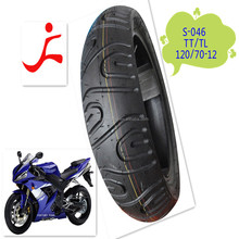 Tyre for motor cycle 120-70-12 tuk tuk motorcycle tire and tube