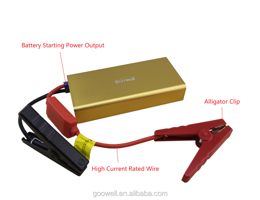 Auto Battery Jump Starter for In Case of Emergency