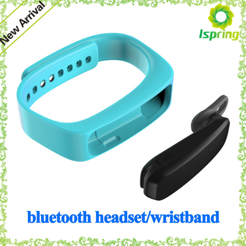 Multi-function Bluetooth headset sleep monitor health balance colorful bracelet
