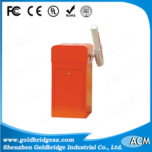 RFID smart parking Barrier road gate and card reader highe speed barrier gate loop detector