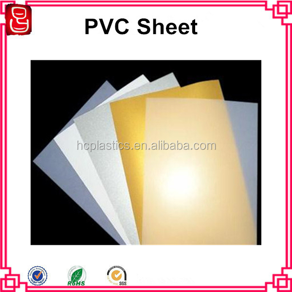 0.3mm A4 size inkjet printable pvc plastic sheet