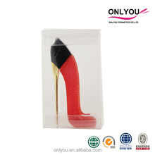 Oem/Odm Brand heel bottle Design perfume for women