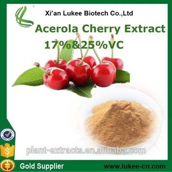 VC 17% 25% Extract Powder Of Acerola Cherry