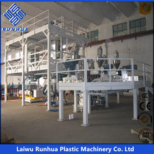 small type PE Plastic bag film blowing machine