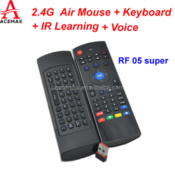 2.4G wireless mouse buy cheap from Acemax MX3 is suitable for Android tv box