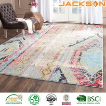 Factory custom made best quality home living decoration area door waterproof rug pad