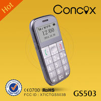 Concox GS503 Senior Elderly SOS Big Button Mobile Cell Phone