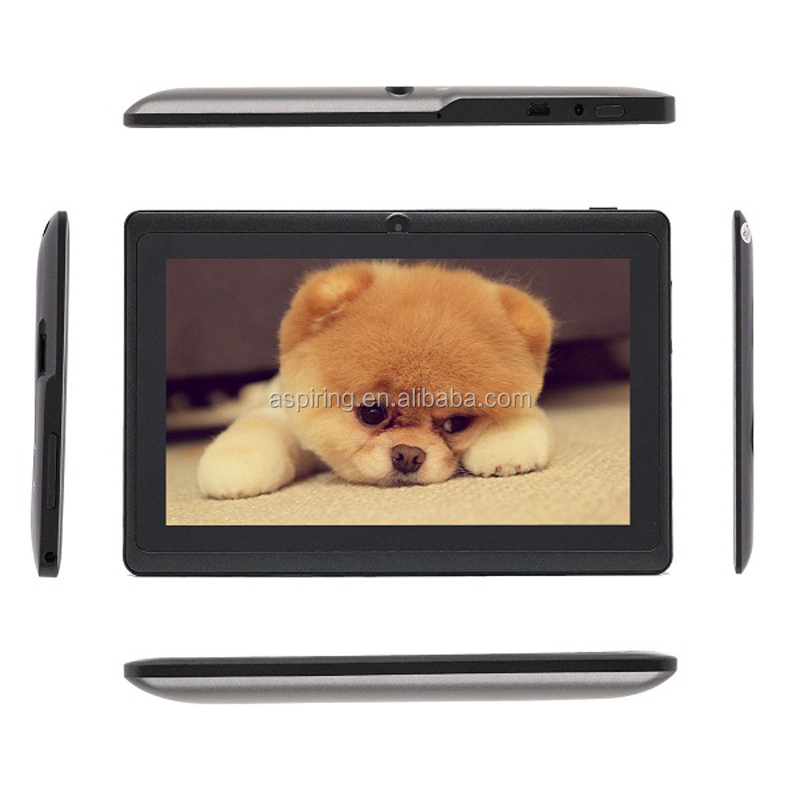 All Winner Q88 Dual Core Tablet PC 7 Inch Capacitive Screen Android 4.4 A33 pc tablet china product